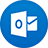 Outlook flat circle-48