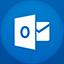 Outlook flat circle-64