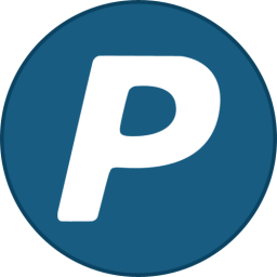 Paypal Round With Border