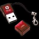 Pen Drive  HP 165w 16GB Red-128