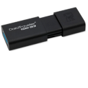 Pen Drive USB 3 Kingston DT100 Open-128