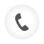 Phone Dial white round icon