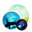 Photodupicator Circle icon