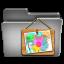 Picture Steel Folder Icon