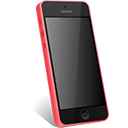 Pink iPhone 5C-128