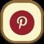 Pinterest Flat Round icon