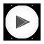 Playstore white round Icon