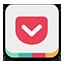 Pocket colorful Icon