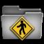 Public Steel Folder icon