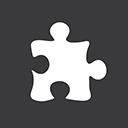 Puzzle grey-128