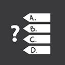 Quiz Games grey-128