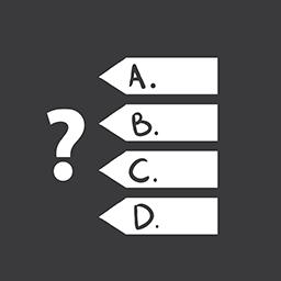 Quiz Games grey