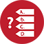 Quiz Games red icon