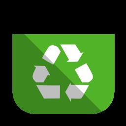 Recycling bin full