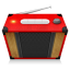 Red Radio Icon
