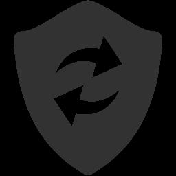 Refresh Shield Icon Download Windows 8 Vector Icons Iconspedia