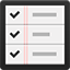 REMINDERS flat icon