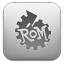 Rom Manager Gray icon