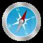Safari Circle icon