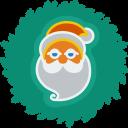Santa Wreath-128