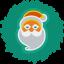 Santa Wreath-64