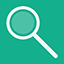 Search flat icon