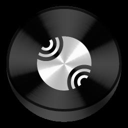 Server Black Drive Circle
