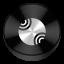 Server Black Drive Circle icon