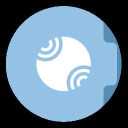 Server Folder Circle