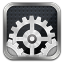 Settings Ios Dark icon