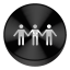 Share Black Drive Circle Icon