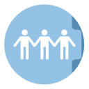 Share Folder Circle-128
