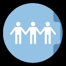 Share Folder Circle