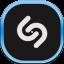 Shazam Flat Mobile icon