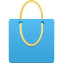 Shopping Bag Blue-128
