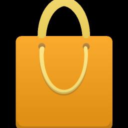 Shopping Bag Orange