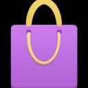Shopping Bag Purple-128