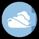 Skydrive Folder Circle-128
