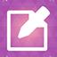Sms purple Icon