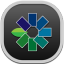 Snapseed Flat Round icon