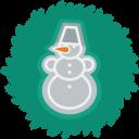 Snowman Wreath-128