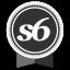 Society6 Round Ribbon Icon