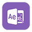 Solid AfterEffects icon