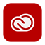 Solid Creative Cloud icon