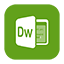 Solid Dreamweaver icon