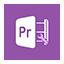 Solid Premiere Pro icon