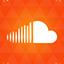 Soundcloud orange icon