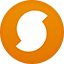 Soundhound flat circle icon