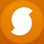 Soundhound flat circle Icon