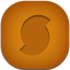 Soundhound Flat Round Icon